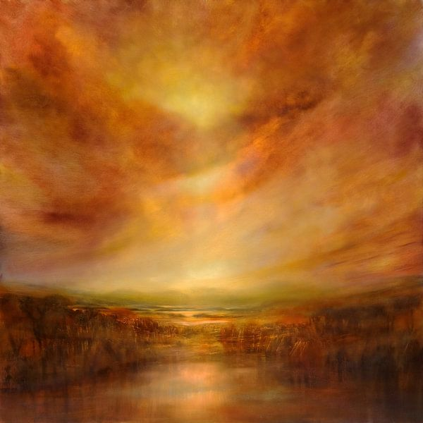 Evening glow von Annette Schmucker