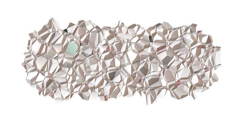 Polygon N.1 van Oliver P_Art