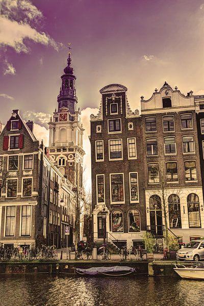 Zuiderkerk Amsterdam Kloveniersburgwal Winter Oud van Hendrik-Jan Kornelis