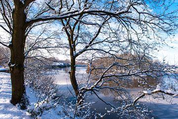 Naarden Vesting in de Sneeuw