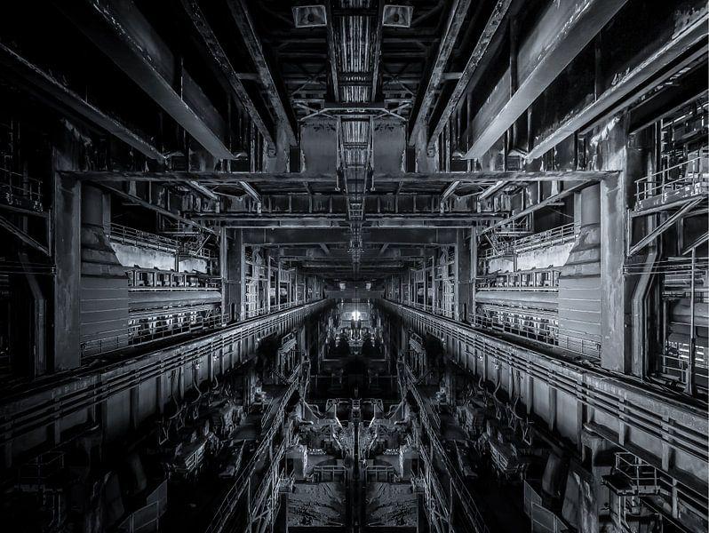 Alte stahlfabrik von Olivier Photography