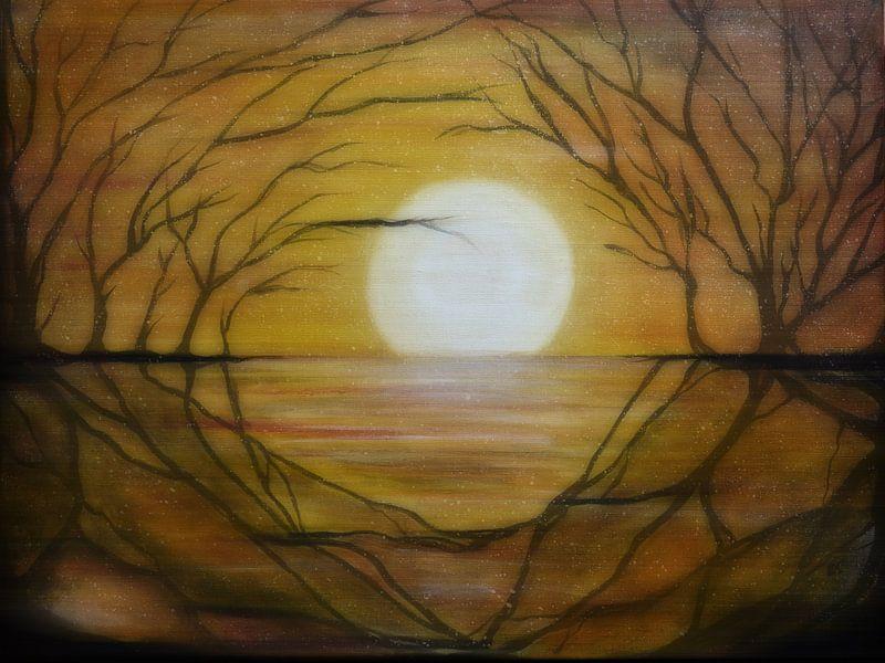Midnight sun van Christine Nöhmeier