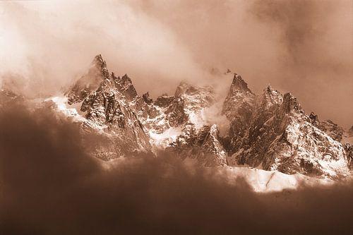 Aiguilles de Chamonix van Menno Boermans