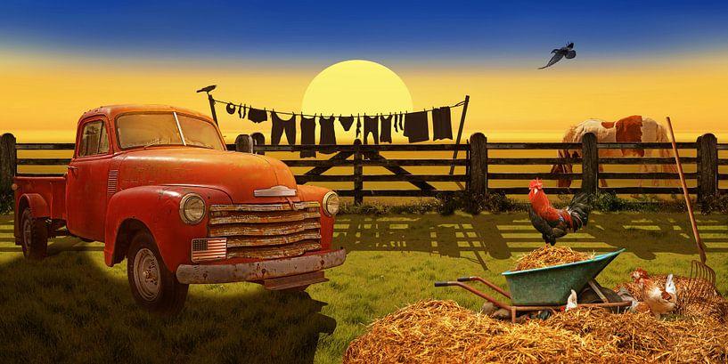 Country Life Nostalgia van Monika Jüngling