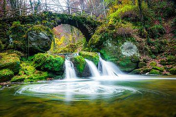 Schiessentümpel waterfall Müllerthal van Etienne Hessels