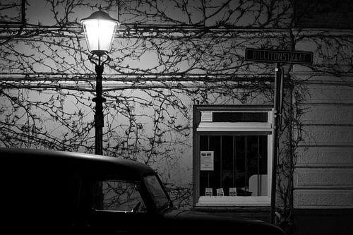 Nacht in de Archipelbuurt van Den Haag van Raoul Suermondt