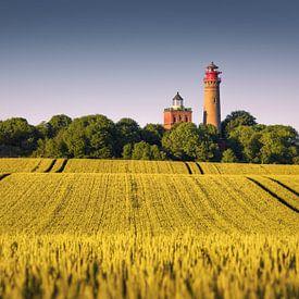 Lighthouses Kap Arkona (Putgarten) van Dirk Wiemer