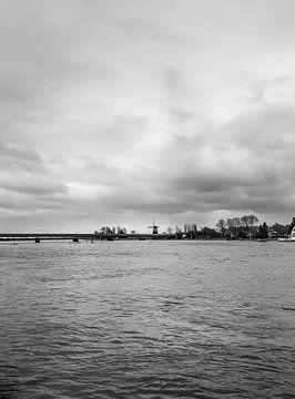 De IJssel bij Deventer (2) van Rob van der Pijll