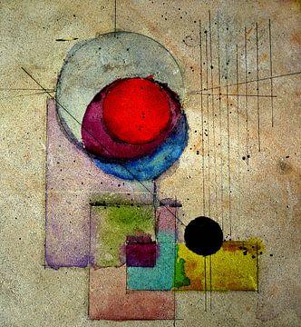 Zon en Maan II van Kay Weber