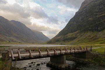 Schotland Loch Achtriochtan von Robert Dibbits