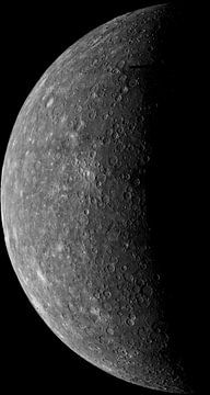 Mercurius Planeet van Digital Universe