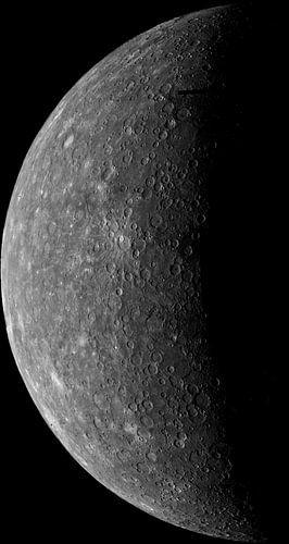 Planète Mercure sur Digital Universe