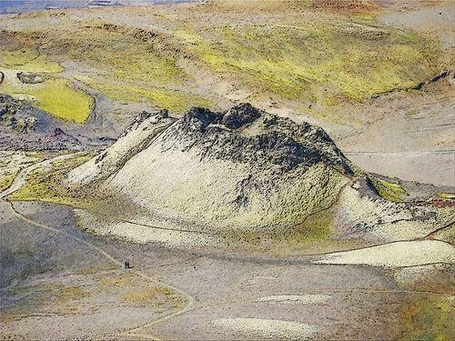 Vulkaantje bij Laki, IJsland