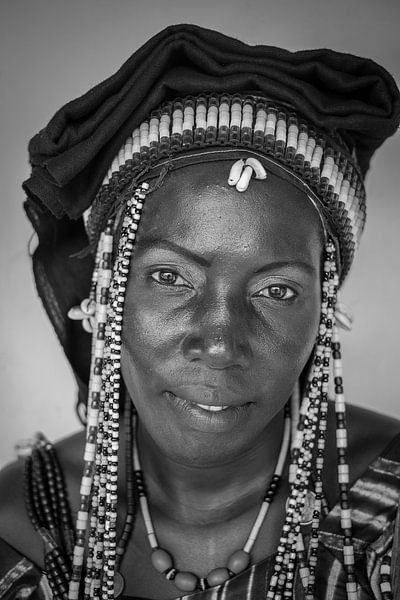 Gambiaanse vrouw van Roel Beurskens
