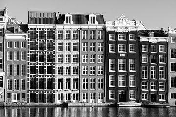 Grachtenhuizen in Amsterdam van Marit Lindberg