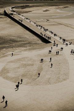 Walking people van Petra Brouwer