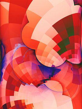 Abstracte samenstelling 410 van Angel Estevez