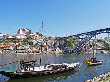 Le port de Porto - Portugal sur Liefde voor Reizen