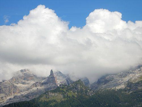 Dolomieten in Italië van Joke te Grotenhuis