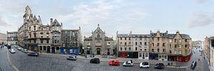 Edinburgh Victoria Street Panorama