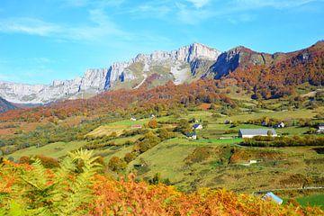 Herfstlandschap- Franse Pyreneeën van My Footprints
