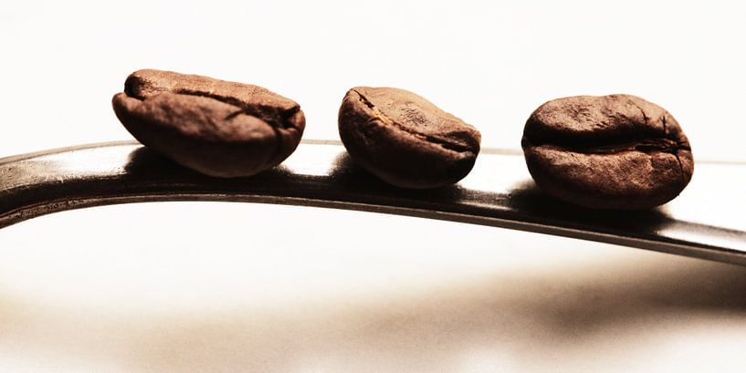 De 3 koffiebonen - Keuken beeld van Falko Follert