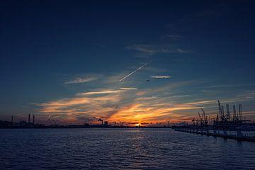 Sunset 1 NDSM van Richard Marks