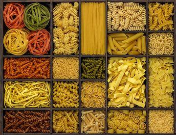 Verschillende pasta variaties van Achim Prill