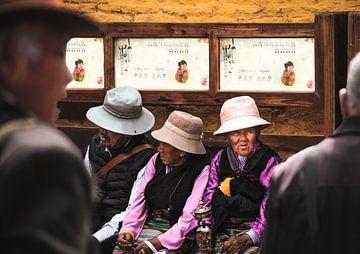 Tibetaanse Vrouwen sur Edzard Boonen