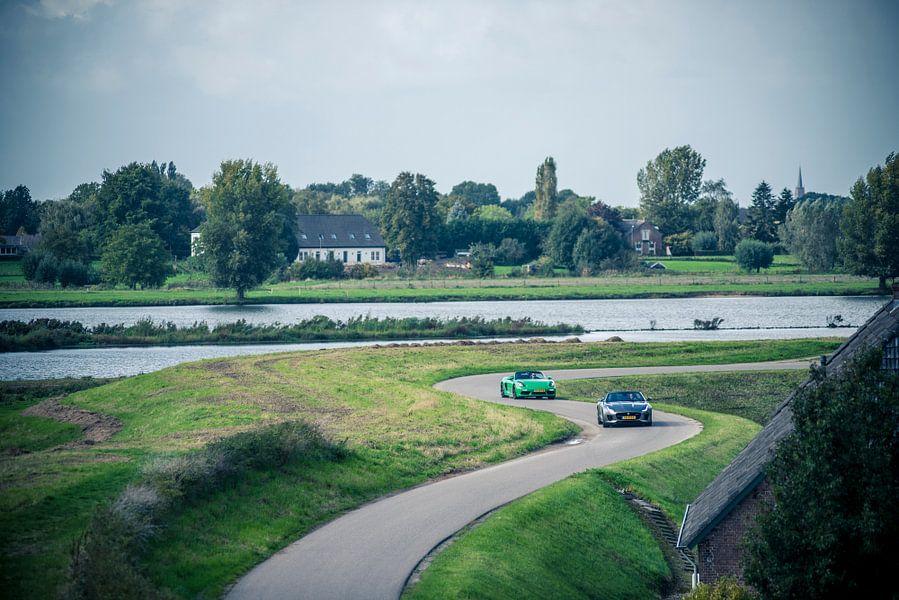 Jaguar F-Type - Porsche Boxster van Sytse Dijkstra