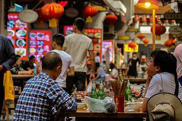 Uiteten in China van Cecile van Essen