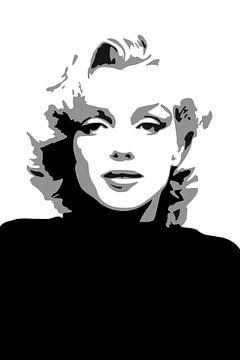 Marilyn Monroe von Harry Hadders