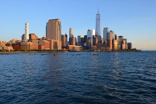 Manhattan Skyline  van Merijn van der Vliet