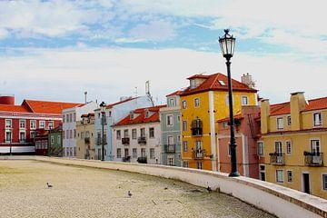 Les couleurs de Lisbonne sur Inge Hogenbijl