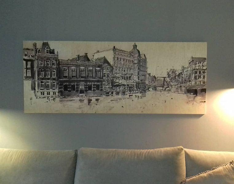 Klantfoto: Doelen Hotel, Amsterdam van Christiaan T. Afman