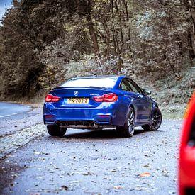 BMW M4 CS - Chevrolet Corvette GS van Sytse Dijkstra