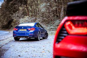 BMW M4 CS - Chevrolet Corvette GS