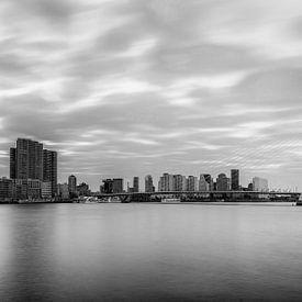 Erasmusbridge Rotterdam von Menno Schaefer