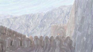 In den Bergen des Oman von Frank Heinz