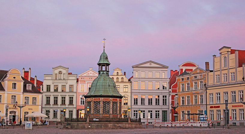 Altstadt Wismar von Die Farbenfluesterin