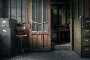 bureau abandonné sur Kristof Ven