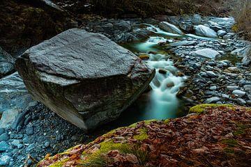 Valle di Vergeletto - Ticino - Zwitserland van Felina Photography