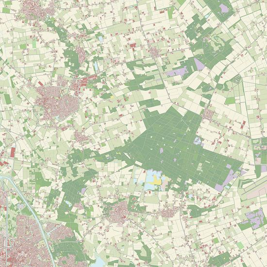 Kaart vanGemert-Bakel