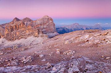 Dolomieten, Alpen, Italië van Frank Peters