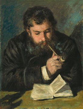 Monet Porträt, Renoir (1872)