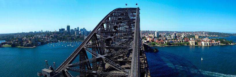 Sydney Harbour Bridge Panoramic van Melanie Viola