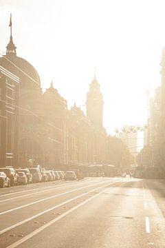 Flinders Street Melbourne sur Jiri Viehmann