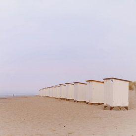 strandhuisjes van Yvonne Blokland