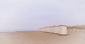 beach huts sur Yvonne Blokland