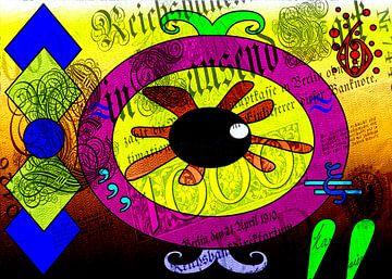 Das Auge van Gabi Siebenhühner
